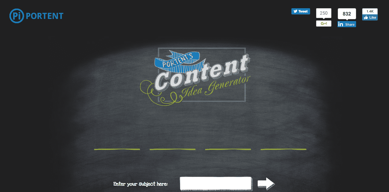 content marketing outils