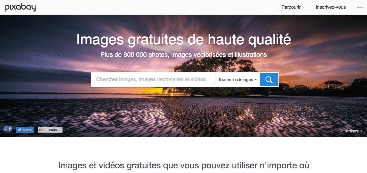 800 000 images gratuites avec Pixabay
