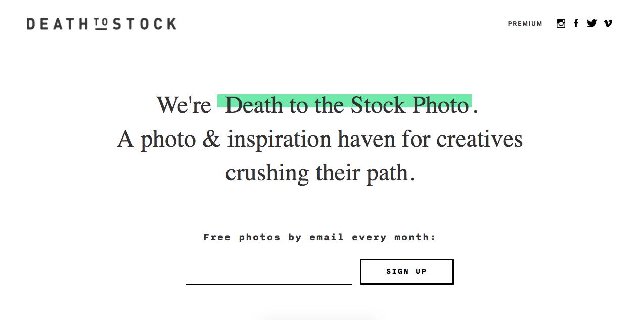 Images gratuites - Death Stock