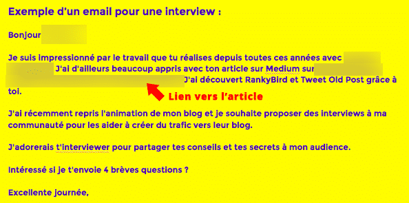 Interviews -augmenter votre trafic blog