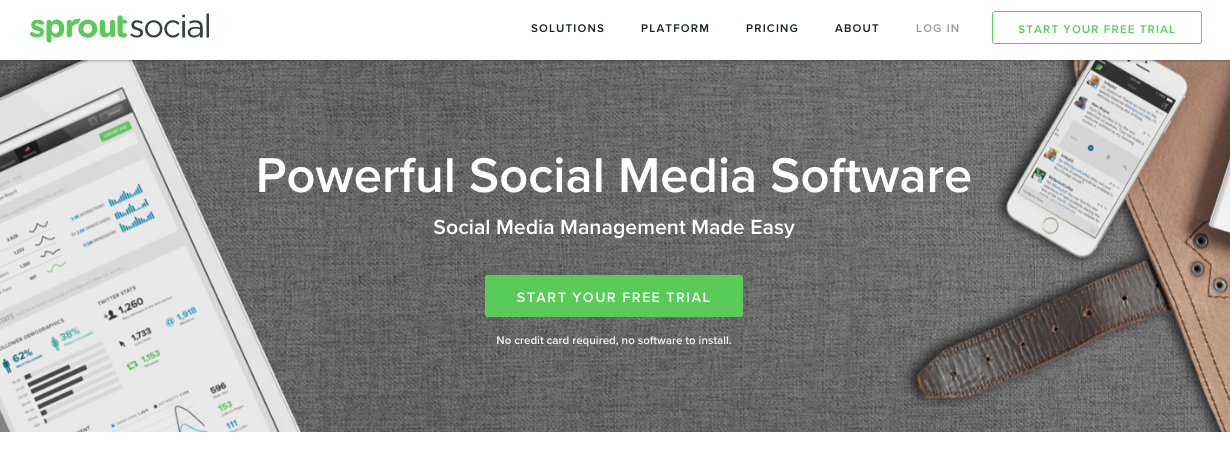 Facebook Outils - SproutSocial