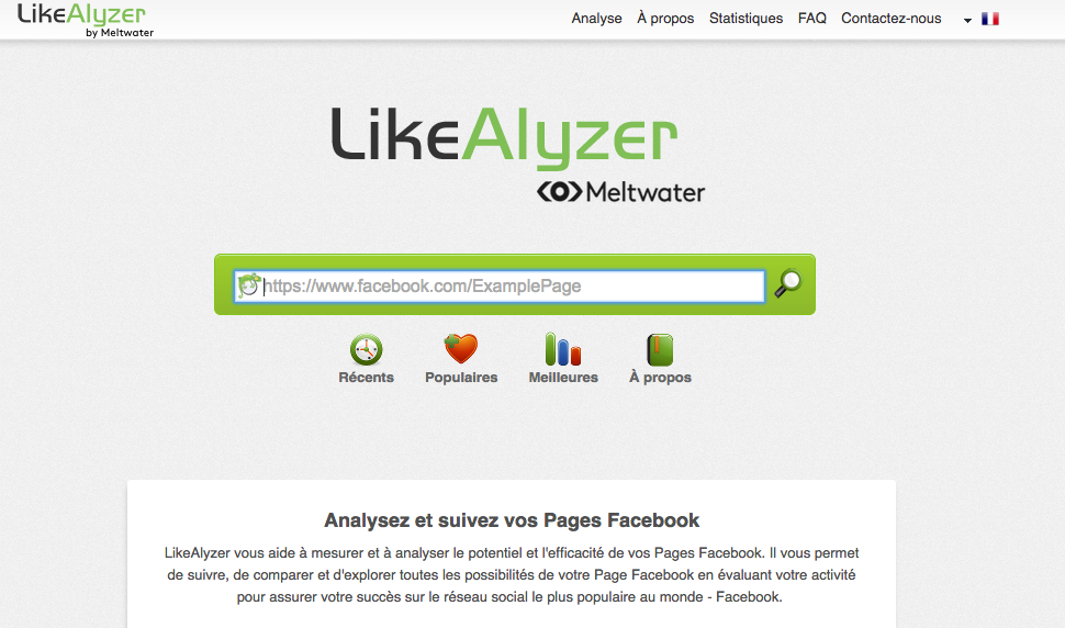 Likealyzer by Meltwater