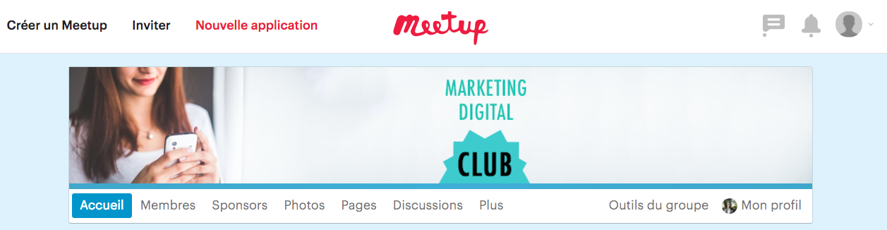 Marketing Digital Club - Meetup