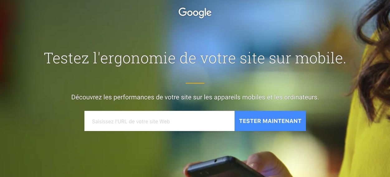 Tester son site sur Google