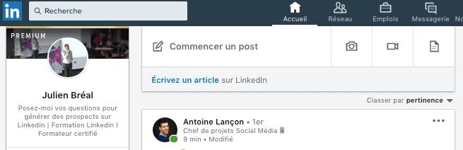 Comment faire une recherche sur Linkedin