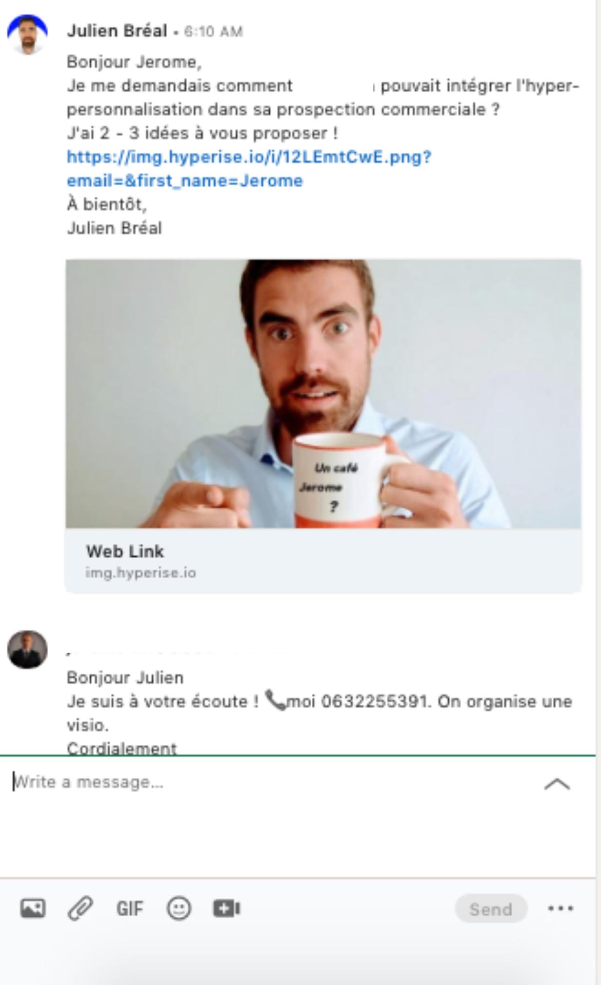 methode generer RDV avec Linkedin
