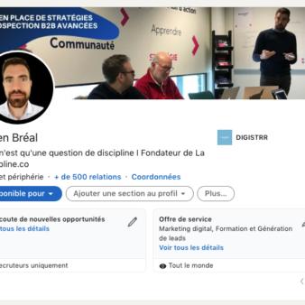 Audit profil Linkedin